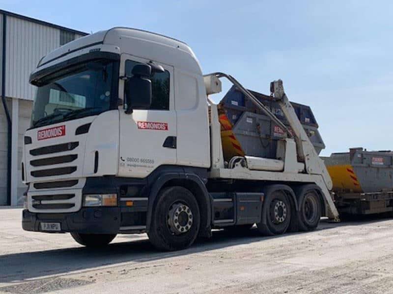 REMONDIS Doncaster Skip Hire Lorry